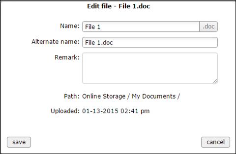 file rename - web